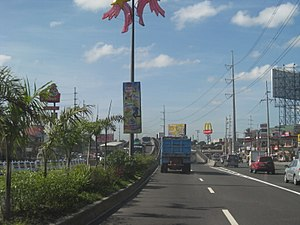 Jose Abad Santos Avenue - Image: Jose Abad Santos Avenue