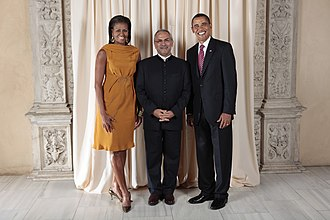 José Ramos-Horta - Ramos-Horta and the Obamas