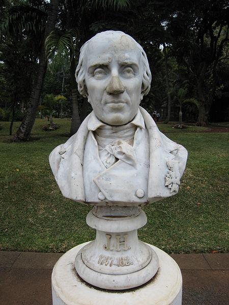 Buste de Joseph Hubert dans leà  Saint-Denis