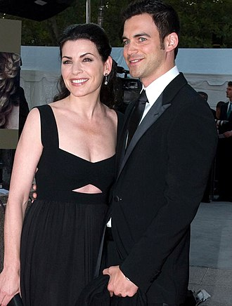 Julianna Margulies - Margulies and Lieberthal at the Metropolitan Opera in 2008