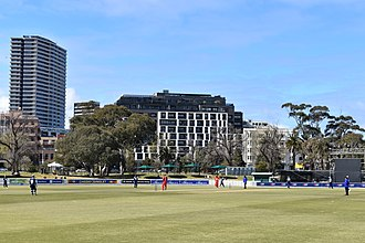 Junction Oval - Victoria v South Australia cricket teams match at  the Junction Oval, September 2018