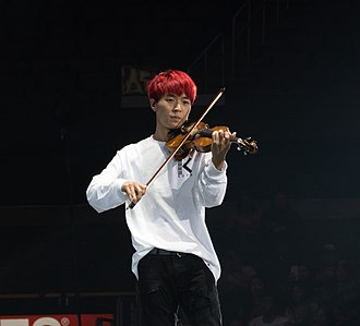 Jun Sung Ahn - Performing at KCON LA 2016, July 30.