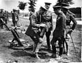 KGV inspects mortars WWI NLS 74547778.jpg