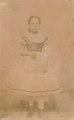 KITLV - 118375 - Anna Marie Philippina Vlier in Surinam - circa 1867.tif