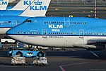 KLM Royal Dutch Airlines Boeing 747-406 - PH-BFY - AMS (24220036696).jpg