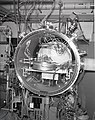 KLYSTRON CALORIM E ANAL ASSEMBLY IN HUGHES CHAMBER AND THE UNITED STATES AIR FORCE USAF TEST BENCH - NARA - 17424157.jpg