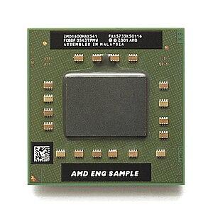 AMD Turion - AMD Turion 64 X2 engineering sample, 1.6 GHz