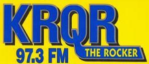 KLLC - KRQR logo - mid 1980s