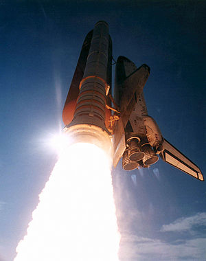 STS-70 - Liftoff of the 70th Space Shuttle mission.