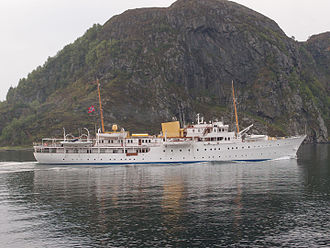 Royal yacht - ''Norge''