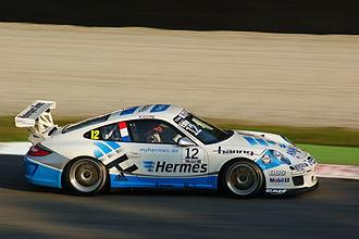 Kévin Estre - Kévin Estre at the 2011 Monza Porsche Supercup round.