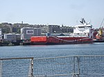 K Line Offshore PSV at Torry Quay, Aberdeen Harbour.jpg