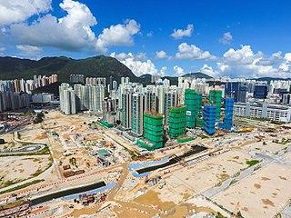 Kai Tak Development Redevelopment of the former Kai Tak Airport site in Hong Kong
