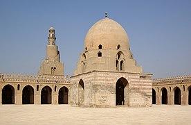 Kairo Ibn Tulun Moschee BW 5