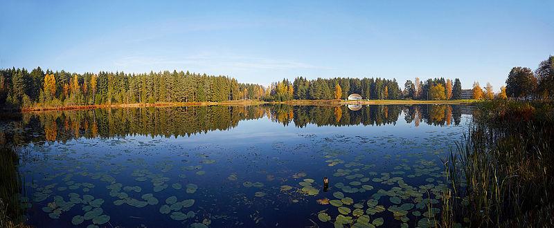Lake Kanariku in Estonia