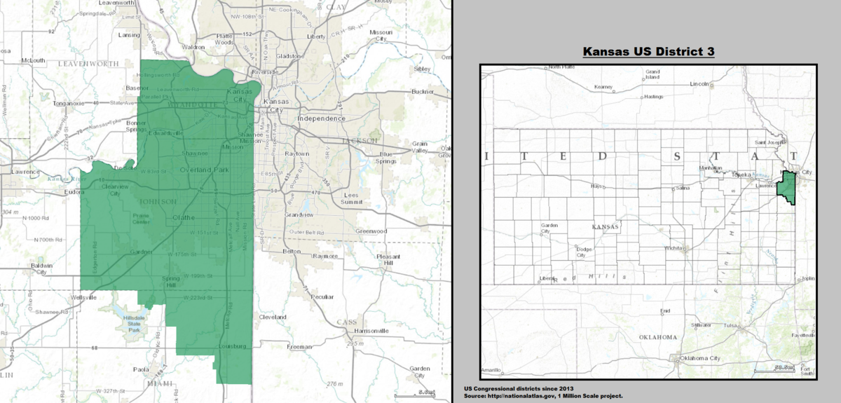 Kansass Rd Congressional District Wikipedia - Missouri us congressional district map