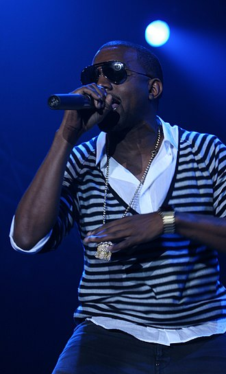 North Sea Jazz Festival - Kanye West performing at the North Sea Jazz Festival, 2006.