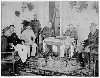 Jambi Sultanate - Image: Kapitulation Jambi Marta Ningrat OL Helfrich 19040326