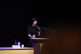 Karin Tidbeck - Karin Tidbeck at Archipelacon 2015 in Mariehamn.