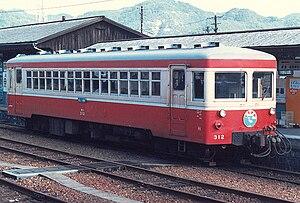 Akō Line - Dowa Mining Co. diesel rail car