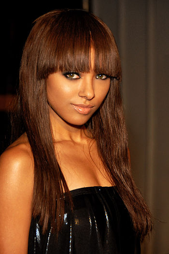 English: Katerina Graham attending Maxim Magaz...