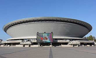 Spodek - The Spodek arena after facade renovation in 2011