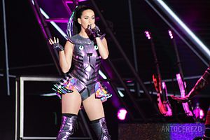 """Who You Love - The guest appearance of Katy Perry on """"Who You Love"""" was well received by critics."""