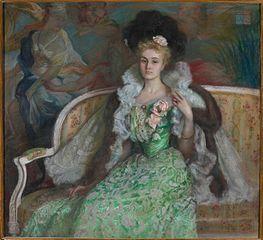 Portret Jadwigi z Czetwertyńskich Tyszkiewiczowej