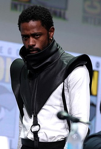 L (Death Note) - Image: Keith Stanfield by Gage Skidmore