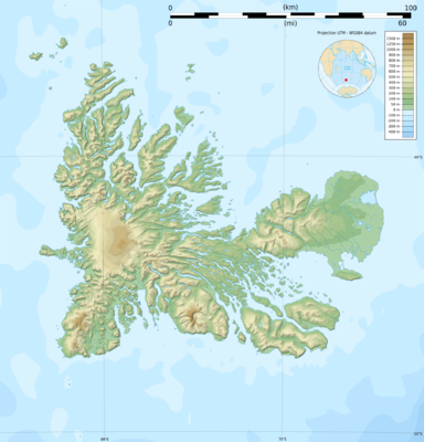 Location map France Kerguelen