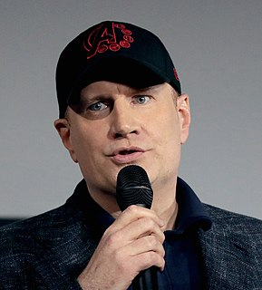 Kevin Feige Film producer and president of Marvel Studios