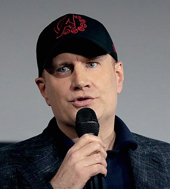 Kevin Feige helped conceive of a shared media universe of Marvel properties.