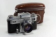 b7c89014c4f Kiev 4 with Jupiter-8M lens and original camera case