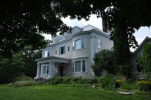 Amos G. Winter House - Image: Kingfield ME Amos G Winter House