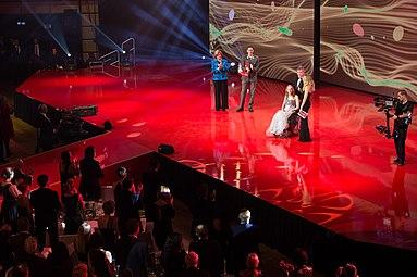 Kira Grünberg Gala Nacht des Sports Österreich 2015 b Mirjam Weichselbraun Andreas Vojta.jpg
