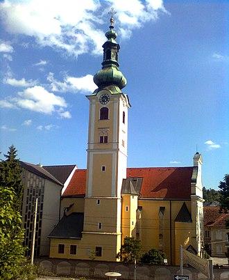 St. Leonhard, Graz - St. Leonhard church in 2010.