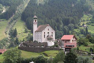 Wassen - Image: Kirche Wassen