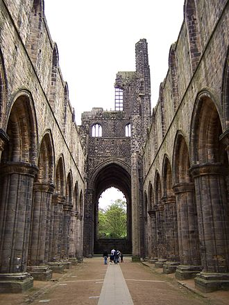 Kirkstall Abbey - Interior