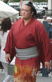 Kisenosato Yutaka Japanese sumo wrestler
