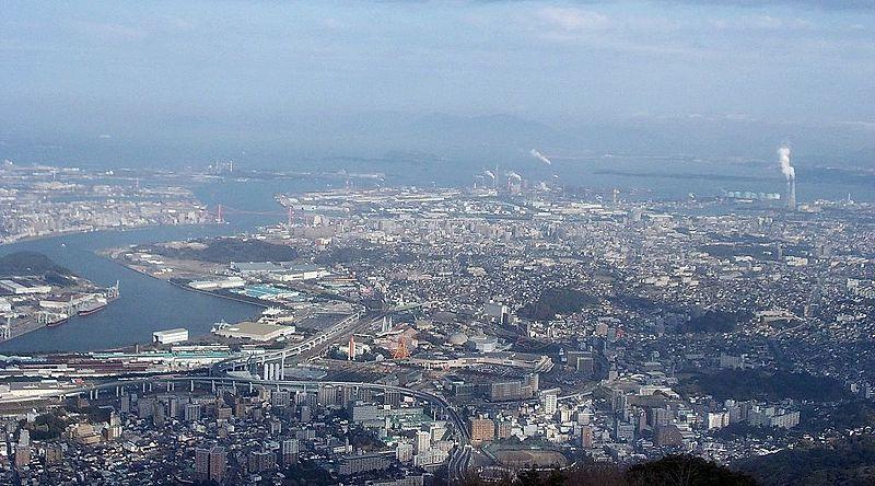 File:Kitakyushu panomara from Mount Sarakura 01.jpg