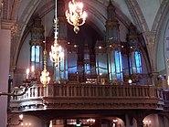 Klara kyrka organ