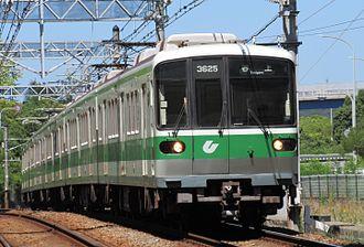 Kobe Municipal Subway - Kobe Municipal Subway 3000 trainset (Seishin-Yamate Line)
