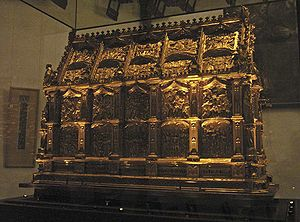 Maccabees - What are believed to be the Maccabees' relics – kept in the Maccabees Shrine – are venerated in St. Andrew's Church, Cologne, Germany.