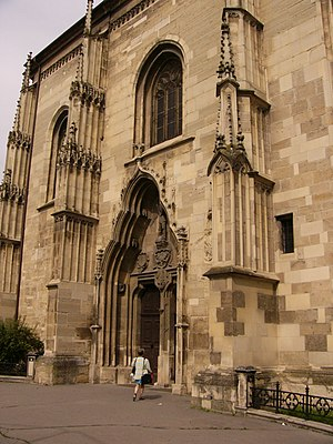 St. Michael's Church, Cluj-Napoca - Image: Kolozsvarx 2