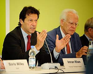Imran Khan in 2009