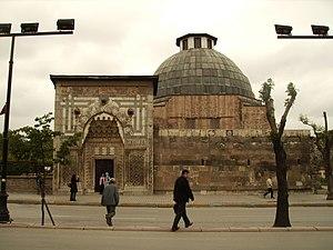 Karatay Madrasa, Konya - Image: Konya panoramio HALUK COMERTEL (25)