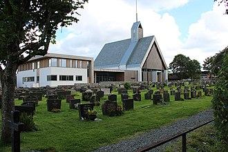 Kopervik Church - Image: Kopervik kirke fra RA