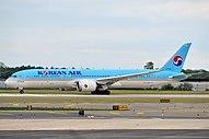 Боинг 787-9 Korean Air облагается налогом.
