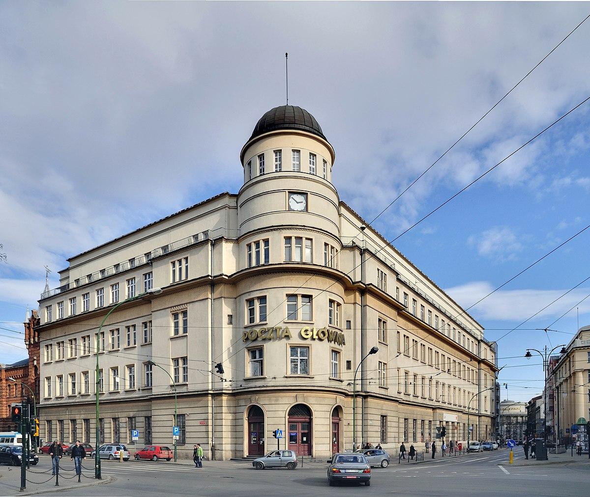 Main Post Office Krakow Wikipedia