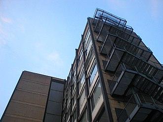 Ferdinand Kramer - Building on Bockenheim Campus